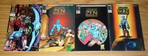 Young Zen Intergalactic Ninja #1-3 VF/NM complete series + city of death special
