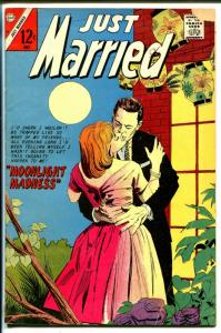 Just Married #52 1967-Charlton-spicy stories--Moonlight Madness-VG