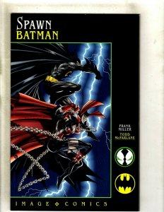 Spawn Batman NM DC Image Comic Book Frank Miller TOdd McFarlane HJ9