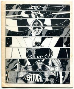 Vertigo Fanzine #9 1970- Clay Kimball- sci-fi comics- fandom VF-