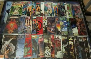 Big ol' ANIMAL MAN lot! 1990-1995 45 books! VF/+Milligan, Veitch, Dillon, Delano