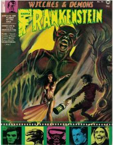 CASTLE OF FRANKENSTEIN 15 VG-F CHRIS LEE,Karloff copy B