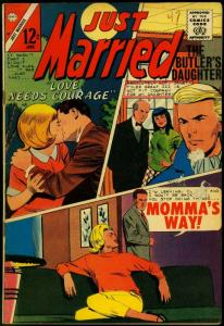 Just Married #47 1966- Spicy Romance Charlton Comic- VG-