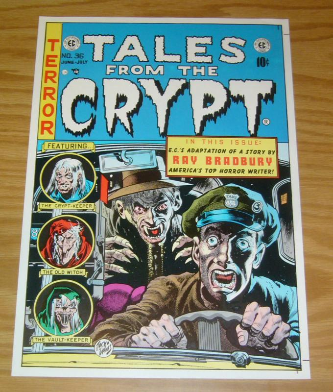 Tales From The Crypt #36 print/poster - jack davis - ec comics - approx 9 x 13