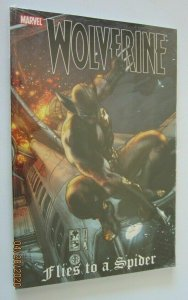 Wolverine Flies to a Spider #1 9.0 NM (2009)