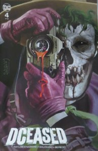 DCEASED #4 Arthur Suydam Joker Killing Joke variant cover! NM! classic