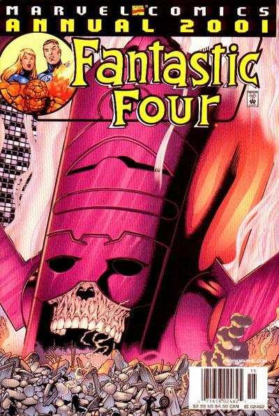 Fantastic Four (1998 series) Annual #2001, NM (Stock photo)