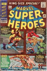 MARVEL SUPER HEROES 1 (1966) G-VG  October 1966 COMICS BOOK