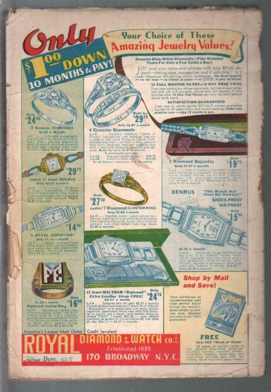 Short Stories 2/25/1937-Doubleday-Talbot Mundy story-Elephant Waits-pulp thrills