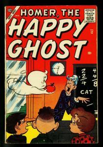 Homer the Happy Ghost #12 1957- Atlas Comics- Dan DeCarlo art- VG