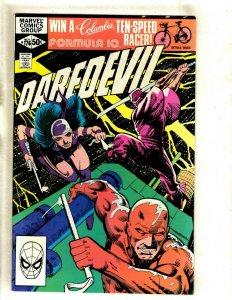 Daredevil # 176 NM Marvel Comic Book Frank Miller Elektra Bullseye Hand HJ9