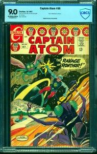 Captain Atom #88 CBCS VF/NM 9.0 Off White to White