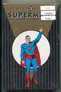 Superman: The Worlds Finest Archives 1 hardcover- sealed