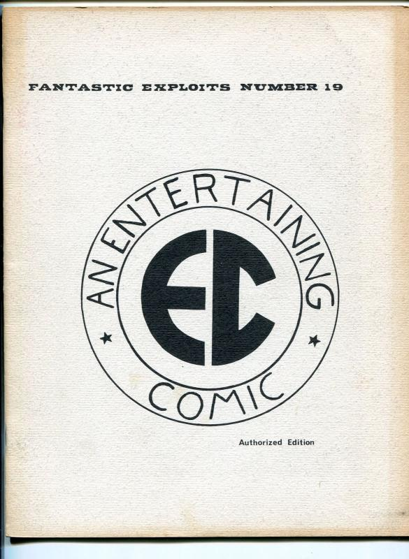 FANTASTIC EXPLOITS #19 1960'S-SFCA-EC COMICS TRIBUTE-WALLY WOOD-AL WILLIAMSON-FN