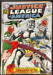 Justice League Of America #15 Fair 1.0 DC Comics