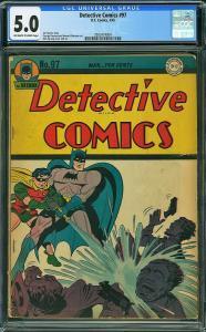 Detective Comics #97 (DC, 1945) CGC 5.0