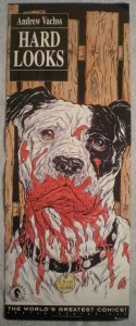 HARD LOOKS Promo poster, Cain the Bloody Dog, 1993, Unused, more in our store