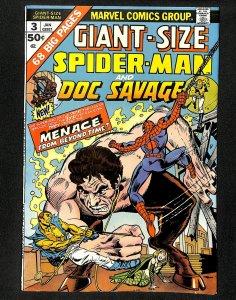 Giant-Size Spider-Man #3 Doc Savage!