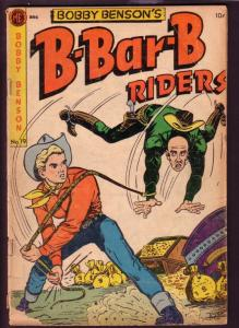BOBBY BENSON'S B-BAR-B RIDERS #19 DICK AYERS ART 1953 G