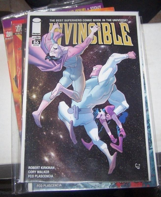 Invincible #86 (December 2011, Image) robert kirkman