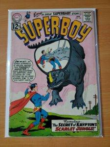 Superboy #102 ~ GOOD - VERY GOOD VG ~ 1963 DC Comics