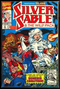 Silver Sable and the Wild Pack #8 (1993)