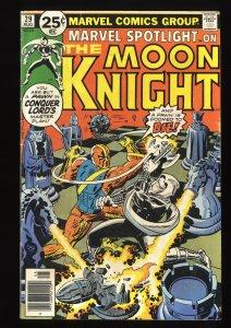 Marvel Spotlight #29 VG 4.0 Comics 2nd Solo Moon Knight!