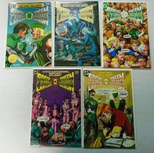 Green Lantern Green Arrow Near Set:#1-5 musing #6 8.0 VF (1983-84)