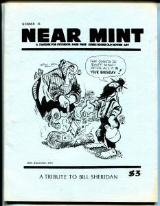 Near Mint #31 1984-Bill Sheridan-Fred Meagher-1940's Superheroes-FN