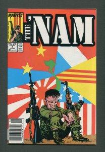 The Nam #7   /  9.0 VFN/NM  /   Newsstand /  June 1987
