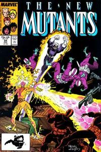 New Mutants (1983 series) #54, NM- (Stock photo)