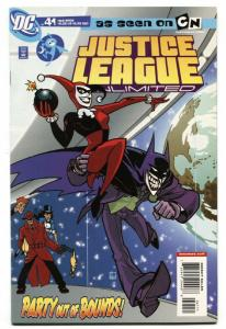 JUSTICE LEAGUE UNLIMITED #41-HARLEY QUINN COVER-JOKER-ZATANNA-NM-