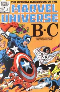 Official Handbook of the Marvel Universe (1983 series) #2, VG (Stock photo)