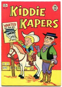Kiddie Kapers #17 1964-  Golden Age comic Reprint - VF-