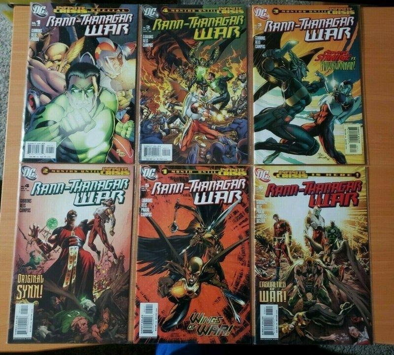Rann-Thanagar War 1-6 Complete Set Run ~ NEAR MINT NM ~ 2006 DC Comics