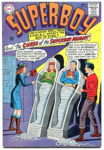 SUPERBOY #123 1965-DC COMICS-WILD MUMMY COVER EGYPTIAN FN-