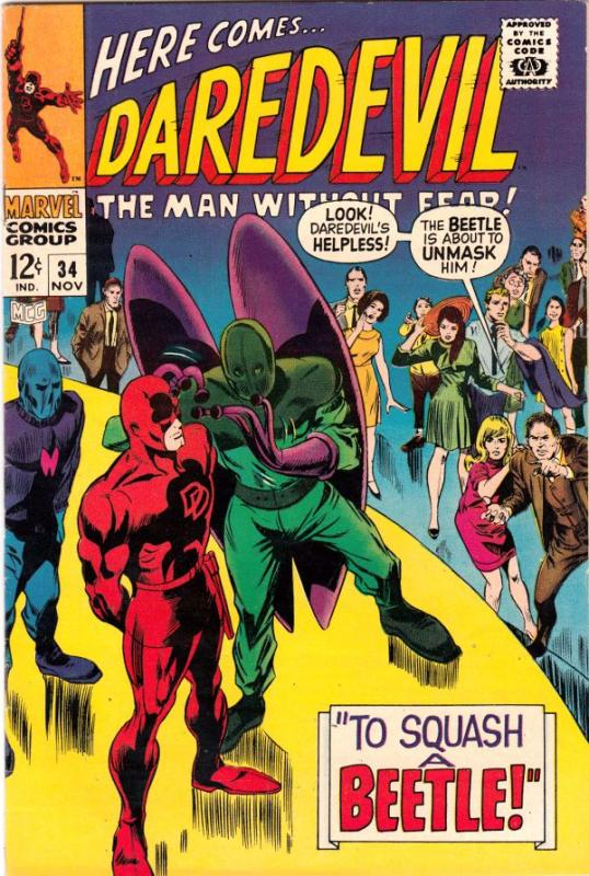 Daredevil #34 (Nov-67) NM- High-Grade Daredevil
