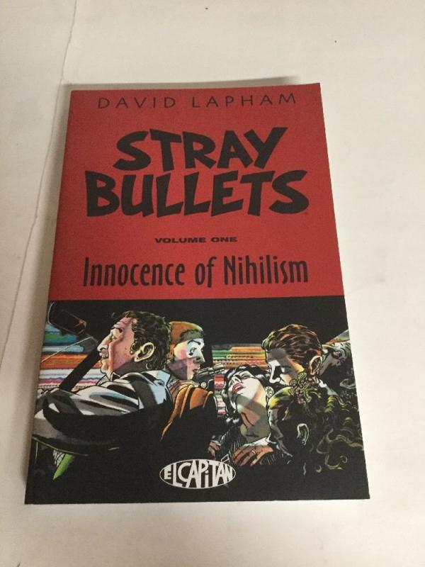 Stray Bullets Vol 1 The Innocence Of Nihilism Tpb Nm