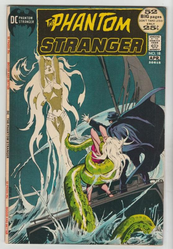 Phantom Stranger, The #18 (Apr-72) VF+ High-Grade The Phantom Stranger