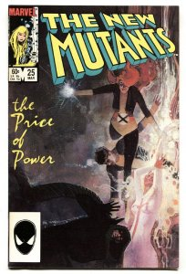 NEW MUTANTS #25 NM- First Legion appearance-cameo--Marvel comic
