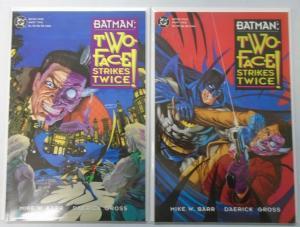Batman Two-Face Strikes Twice, Set:#1+2, 8.0/VF (1993)
