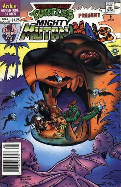 Mighty Mutanimals #3 FN; Archie | save on shipping - details inside