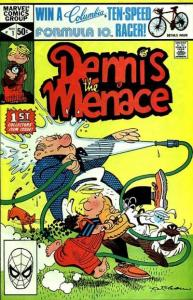 Dennis the Menace (1981 series) #1, VF- (Stock photo)