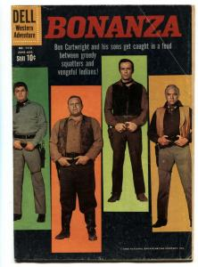 Four Color Comics #1110- First issue-Bonanza TV Photo cover VG