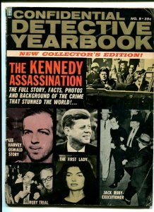 Confidential Detective Yearbook 1964- Kennedy Assassination VG