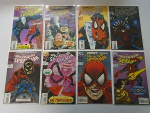 Spectacular Spider-Man lot 37 different from #204-262 NM (1993-98 1st Series)