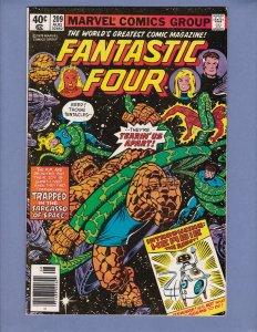 Fantastic Four #209 FN/VF 1st John Byrne Art 1st Appearance Herbie Marvel1979