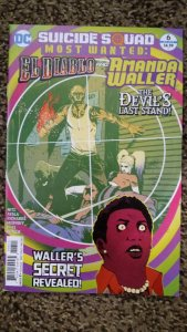 Suicide Squad Most Wanted: El Diablo & Boomerang #6 (2017) NM