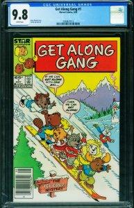 Get Along Gang #1 CGC 9.8 NEWSSTAND VARIANT HTF 2038827013