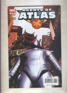 Agents of Atlas numero 6